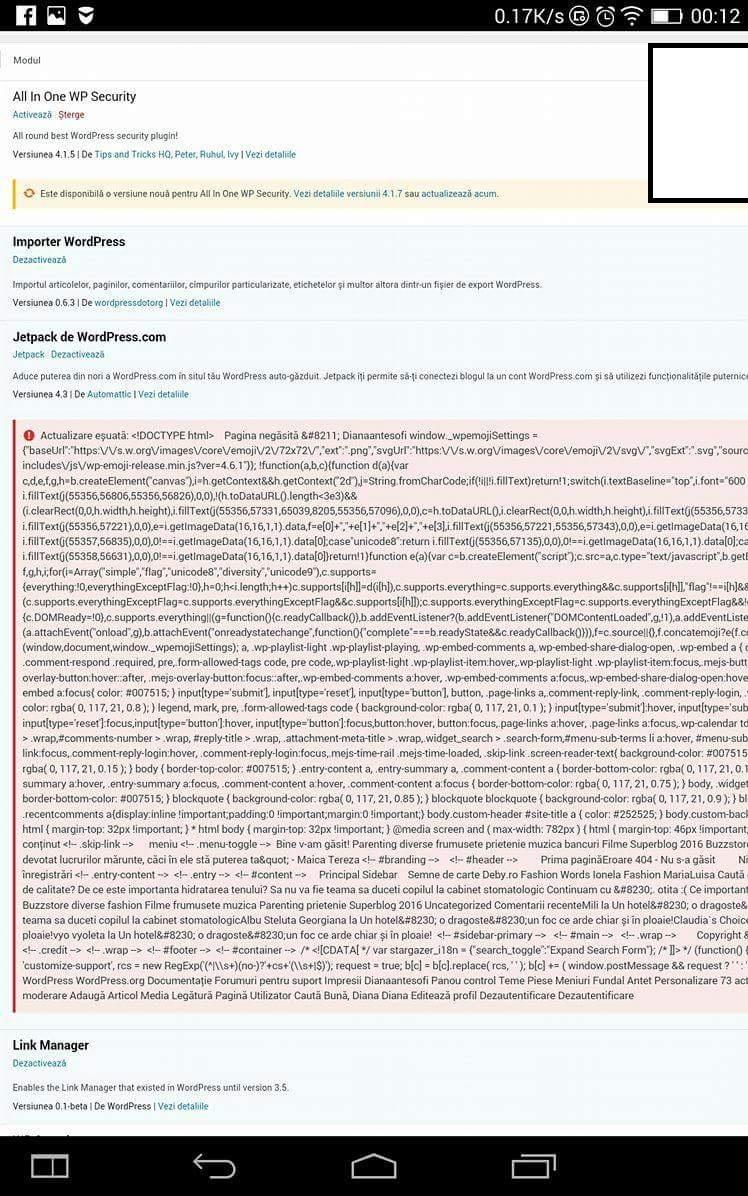 Sfatul Zilei(6): Atunci când pluginurile pun gând rău blogului tău!