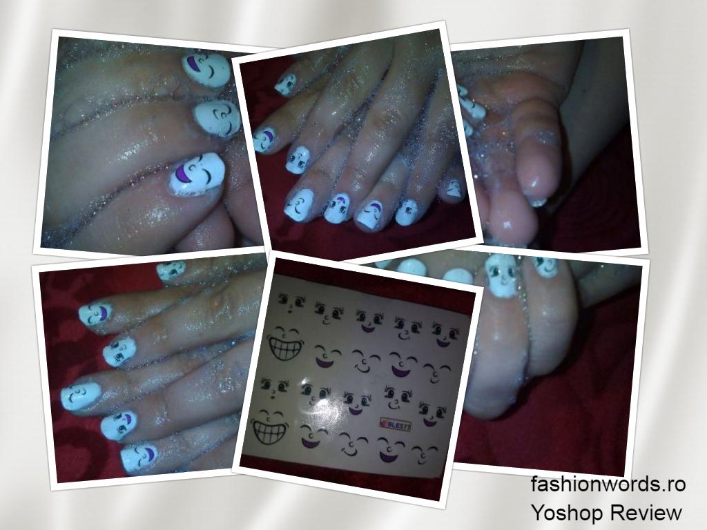W.R.3: Yoshop Cute Manicure Decal Accessory Cartoon Nail Sticker for Children