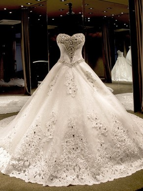 Ball Gown Wedding Dresses from Millybridal UK