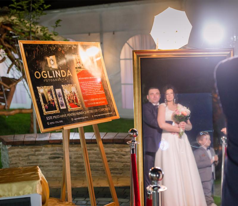 Oglinda magica sau cabina foto nunta – un cadou inedit pentru orice fericit cuplu