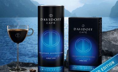 Lasă-ţi simţurile să se scufunde în gustul luxului, cu Davidoff Café Création Supérieure Azur în ediție limitată