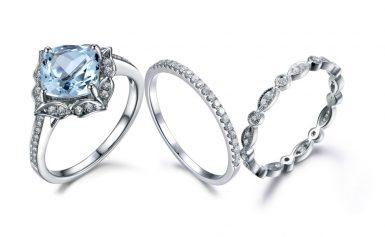 Purely Gemstone Top Sellers-Platinum Solitaire Gemstone Diamond Engagement Ring